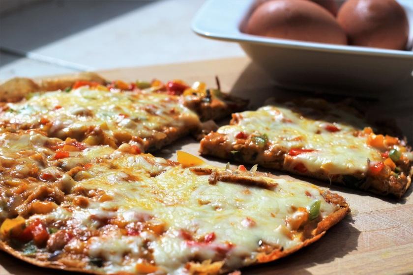 cheesy vegetable omlet